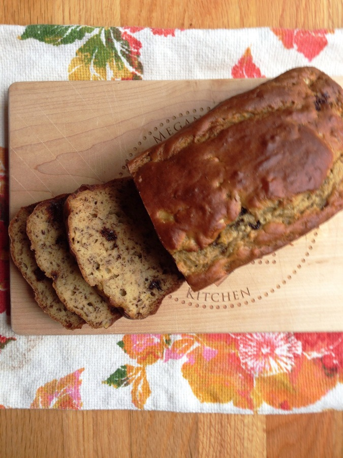 Chocolate chip bananabread