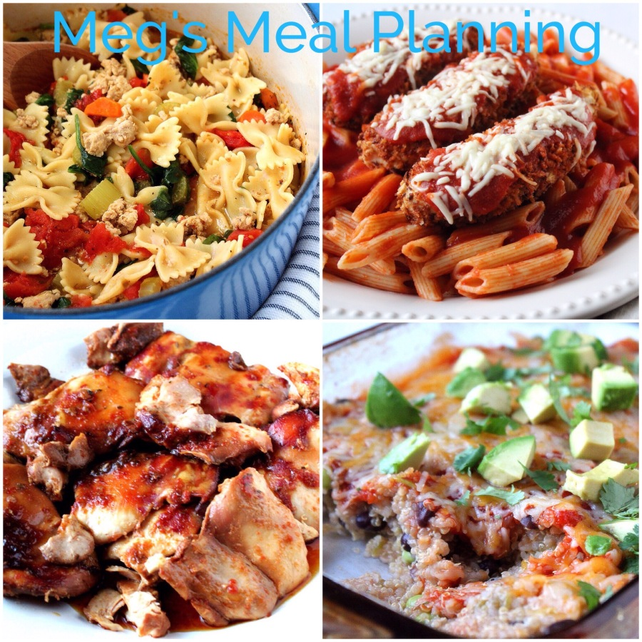 March 5th weekly meal plan